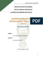 Seguimiento Geologico de Perforacic3b3n Del Pozo La Pec3b1a 75