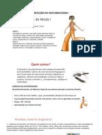 Material Para Impressão - Desenho de Moda i e II - Juliana Rosa Para Senai