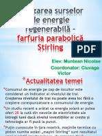 Farfuria Parabolica Stirling f