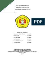 II. Portofolio Selection (BAB 19)