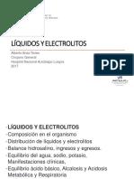 Clase 01 - Liquidos y Electrolitos