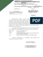 Surat Evaluasi Rancangan Aktualisasi Mentor