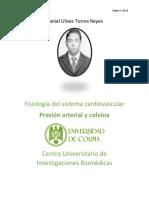 Daniel Ulises Torres Reyes. Presión Arterial y Cafeína