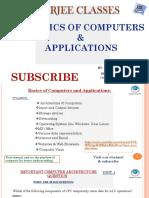 Compute Basics for Competitive exam