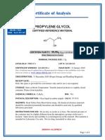 Coa Propylene Glycol
