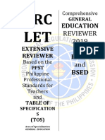 General Education 2019 New