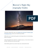 Dave Morrows Night Sky Photography Guides