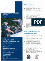 QPS information on Vehicle Security