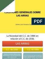 CUESTIONES GENERALES SOBRE LAS ARRAS.pptx