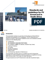 Standards and Guidelines for PV GreenCard BSW 201607