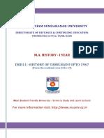 Tamilnadu History