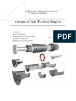 33688822 Design of a Gas Turbine[1]