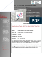 Sewing Machine Operator Qualification Pack Final 31Mar14