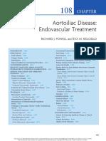 Aortoiliac Endovascular Treatment Cap Rutheford