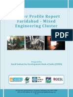 Cluster Profile Report Faridabad (Mixed) Cluster