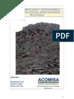 Informe Geologico y Geoeconomico