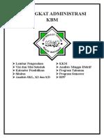 1. Cover Perangkat Administrasi Kbm