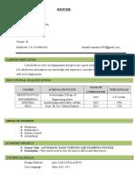 Ramakrishnan Resume 02