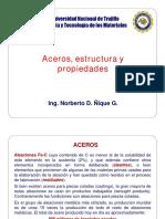 ACERO ESTRUCTURA Y PROPIEDADES