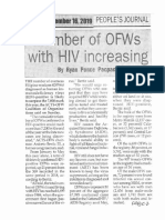 Peoples Journal, Sept. 16, 2019, Number of OFWs with HIV increasing.pdf