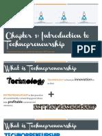 Chapter 1 Introduction to Technopreneurship