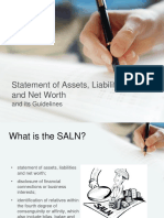 SALN (New Form and Guidelines) 2018