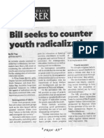 Philippine Daily Inquirer, Sept. 16, 2019, Bill seeks to counter youth radicalization.pdf