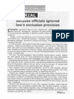 Tempo, Sept. 16, 2019, Because officials ignored law's exclusion provision.pdf