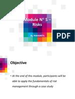 Module 05 – Risks
