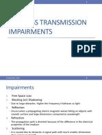 Wireless Transmission Impairments