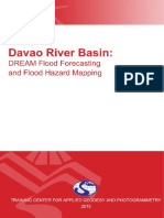 DREAM Flood Forecasting and Flood Hazard Mapping for Davao River Basin