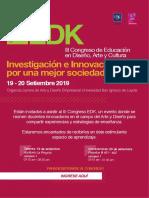INVITACIÓN EDK-2019