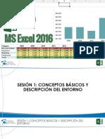 Excel 2016 Bas Sesion 1 Presentación