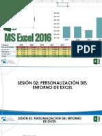 Excel 2016 Bas Sesión 2 Presentación