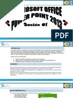 Power Point Bas Sesión 1 Presentación