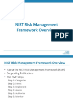 NIST Risk Management Framework Overview