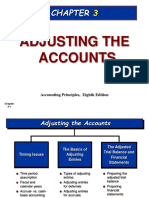 208545123 Chapter 3 Adjusting the Accounts