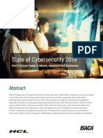 State of Cyber Security