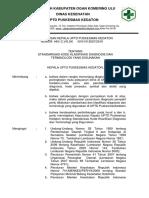 Sk Tentang Standarisasi Kode Klasipikasi Diagnosis