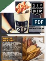 Sip&Dip Corporate Profile
