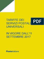 Prodotti Servizio Universale Listino Poste POSTE MAI INTERNAZIONALE
