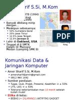 Kuliah 1 - 2 Komunikasi Data - Intro