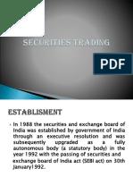 SAPM- Securities Trading