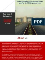 M.sc Math Brochure 2019-20
