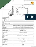 IFM Speed Relay DD0203 Data Sheet