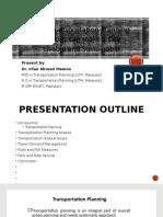Transportation Planning Presentation