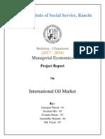 International Oil Market
