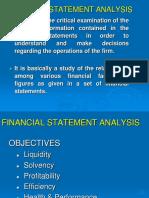 Analysis of Fianacial Statements-New