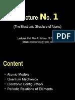 Gen CHEM 2 Lecture 1
