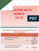 Rtl Mutu Admen Nov 2018